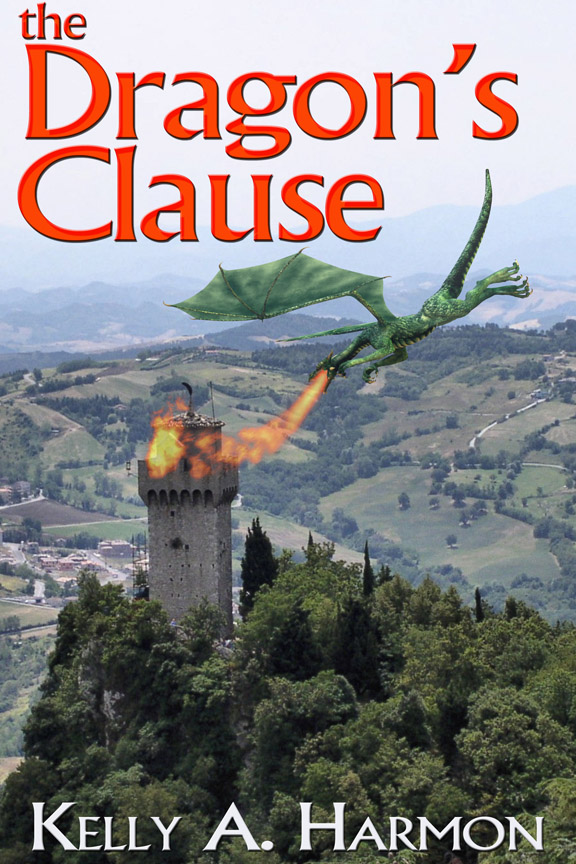 Cover of The Dragon's Clause by Kelly A. Harmon