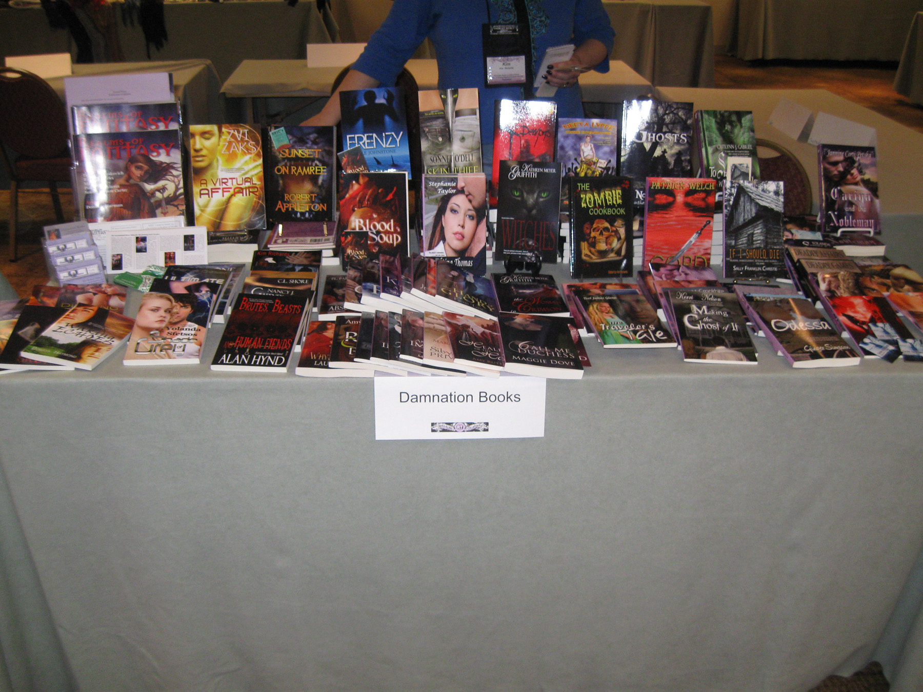Blood Soup by Kelly A. Harmon at the Romantic Times Booklovers Convention in LA, April 2011