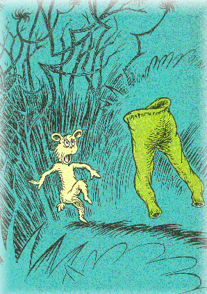 Dr. Seuss' Green Pants With No One Inside Them