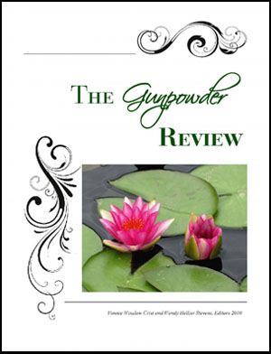 Cover of the 2010 Issue of The Gunpowder Review