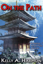 Cover of On the Path featuring a pagoda on a mountanside.