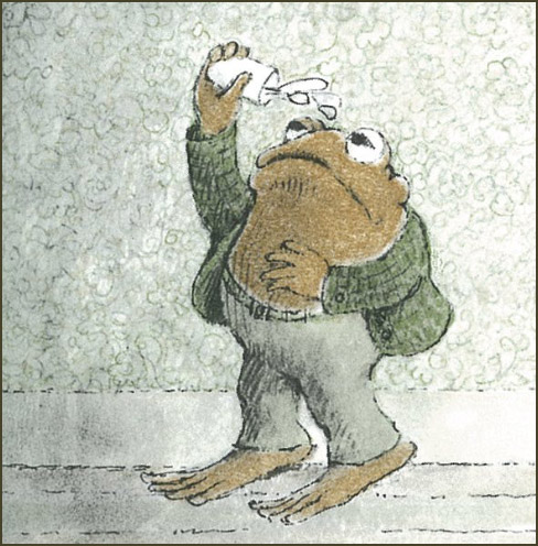 Toad Pouring Water On His Head