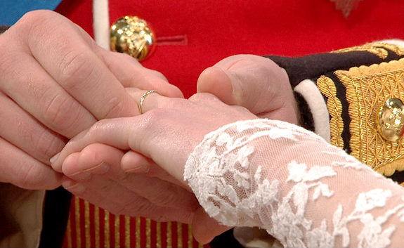 Kate Middleton's Wedding Ring