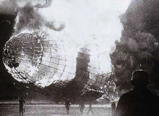 Hindenburg on Fire