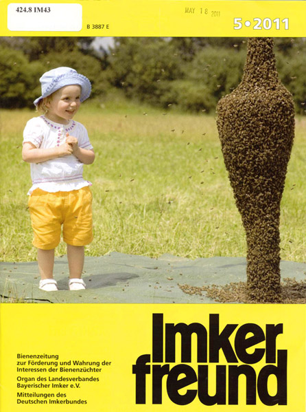Bee Keeper's Friend Magazine Cover