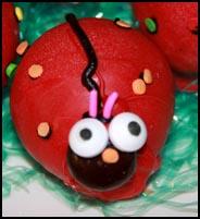Single Ladybug Confection created by Kelly A. Harmon