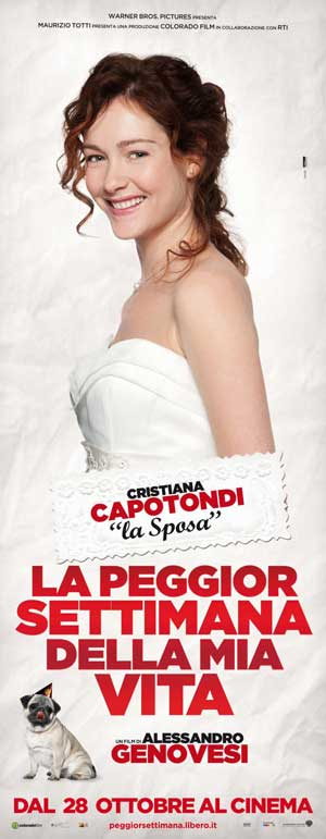 Christiana Capotondi as la sposa