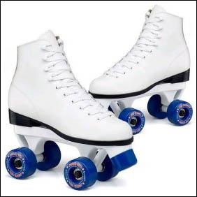 Women's White Roller Skates