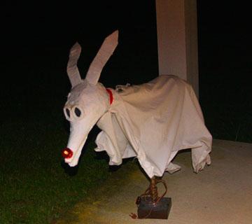 Jack Skellington's Dog Zero, sculpted by Kelly A. Harmon