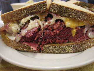 Reuben Sandwich. Photo by Ernesto Andrade.