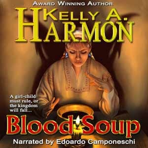Audio Book Cover Art for Blood Soup