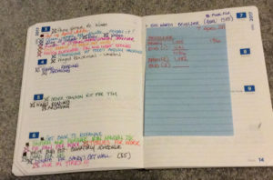 Quo Vadis Planner - Week on Two Pages